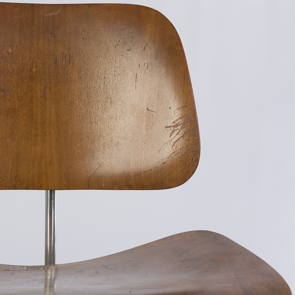Wooden 1940s Evans Plywood Products Eames DCM - Ply Dining Chair Metal Chairs in excellent condition