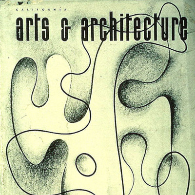Arts & Architecture - Feb 1943 - Ray Eames Cover