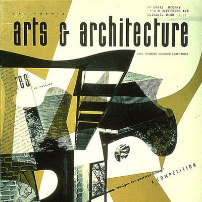 Arts & Architecture - April 1943 - Ray Eames Cover