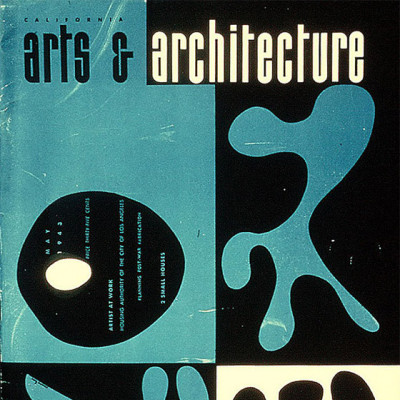Arts & Architecture - May 1943 - Ray Eames Cover