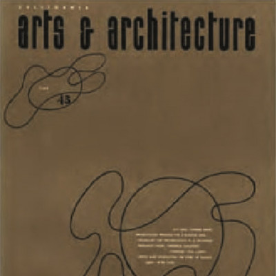 Arts & Architecture - June 1943 - Ray Eames Cover