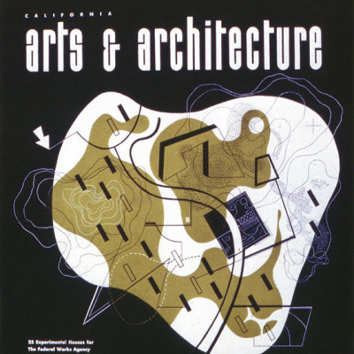 Arts & Architecture - May 1942 - Ray Eames Cover