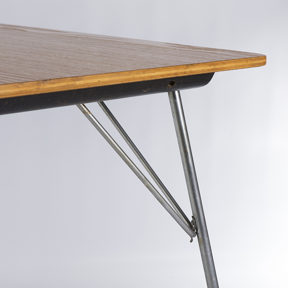 Wooden 1940s Evans Plywood Products Eames DTM - Rectangular Dining Table Dining Tables in excellent condition