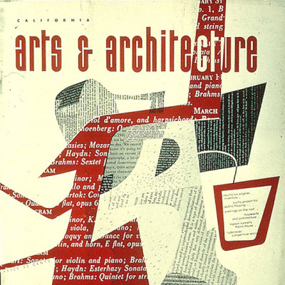 Arts & Architecture - Nov 1943 - Ray Eames Cover