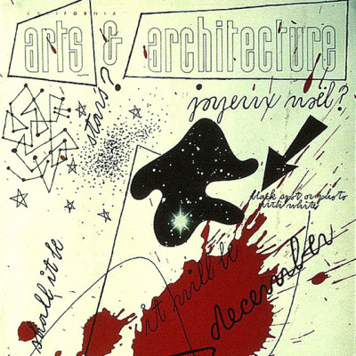 Arts & Architecture - Dec 1943 - Ray Eames Cover