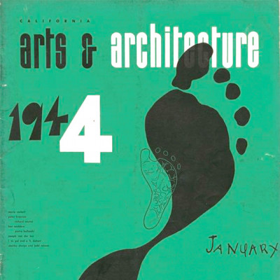 Arts & Architecture - Jan 1944 - Ray Eames Cover
