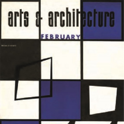 Arts & Architecture - Feb 1944 - Ray Eames Cover