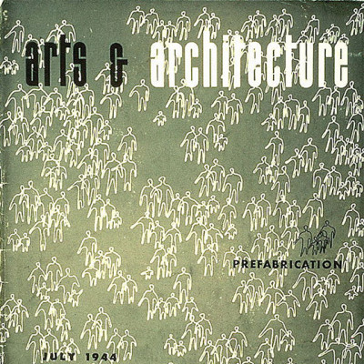 Arts & Architecture - July 1944 - Ray Eames Cover