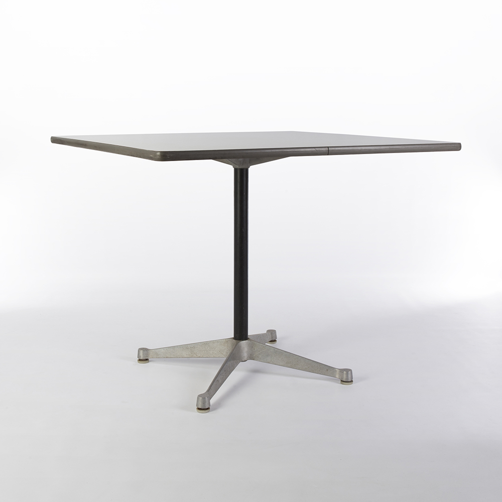 White 1950s Herman Miller Eames Contract Base Dining Table & Work Tables Dining Tables in very good condition