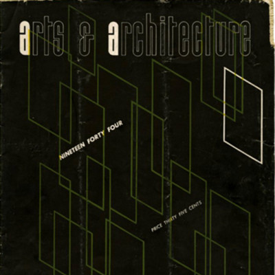 Arts & Architecture - Oct 1944 - Ray Eames Cover