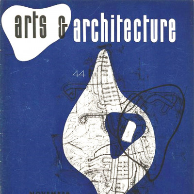 Arts & Architecture - Nov 1944 - Ray Eames Cover