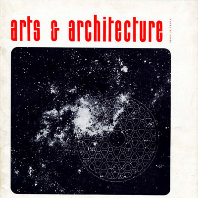 Arts & Architecture - Dec1947 - Ray Eames Cover
