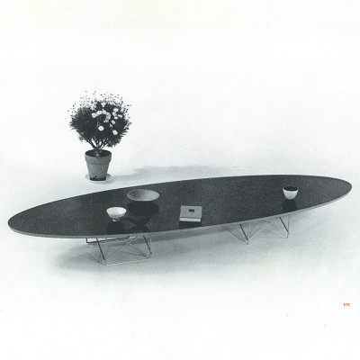 An original early 1950's photograph image of the Eames ETR