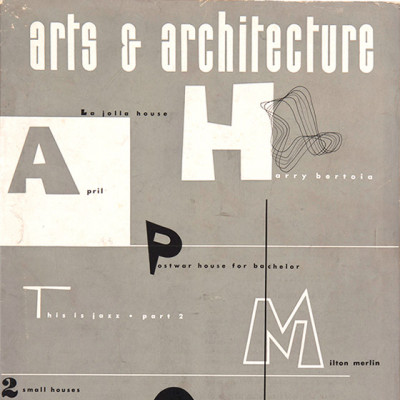 Arts & Architecture - April 1944 - Ray Eames Cover