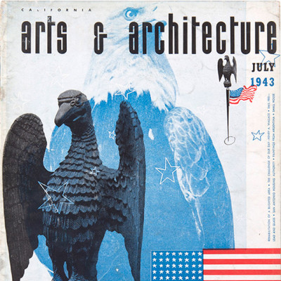 Arts & Architecture - July 1943 - Ray Eames Cover
