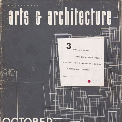 Arts & Architecture - Oct 1942 - Ray Eames Cover