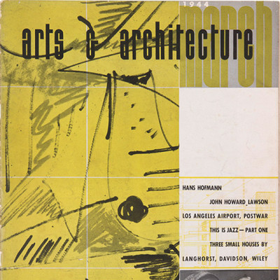 Arts & Architecture - March 1944 - Ray Eames Cover