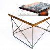 White 1950s Herman Miller Eames LTR Side Table Side Tables in very good condition thumbnail