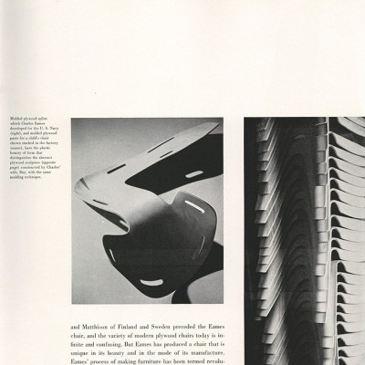 Page 3 of article on Charles and Ray Eames - Portfolio 1950