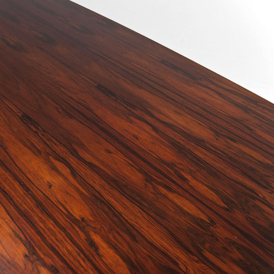 The Rosewood veneers used on many of the early conference and work tables were a popular choice