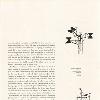 Page 10 of article on Charles and Ray Eames - Portfolio 1950