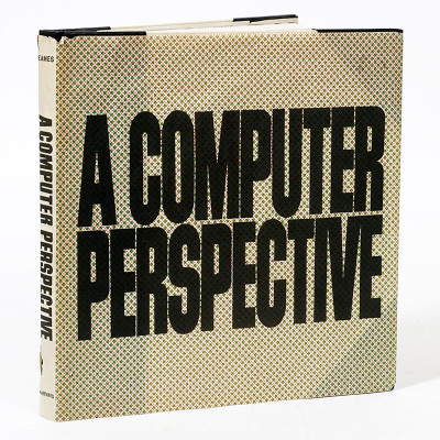 The first edition of A Computer Perspective is housed in its distinctive wrap around super fragile dust jacket that resembles grease proof paper