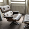 Brown 2008 Herman Miller Eames Eames Lounge Chair & Ottoman Lounge Seating in excellent condition thumbnail