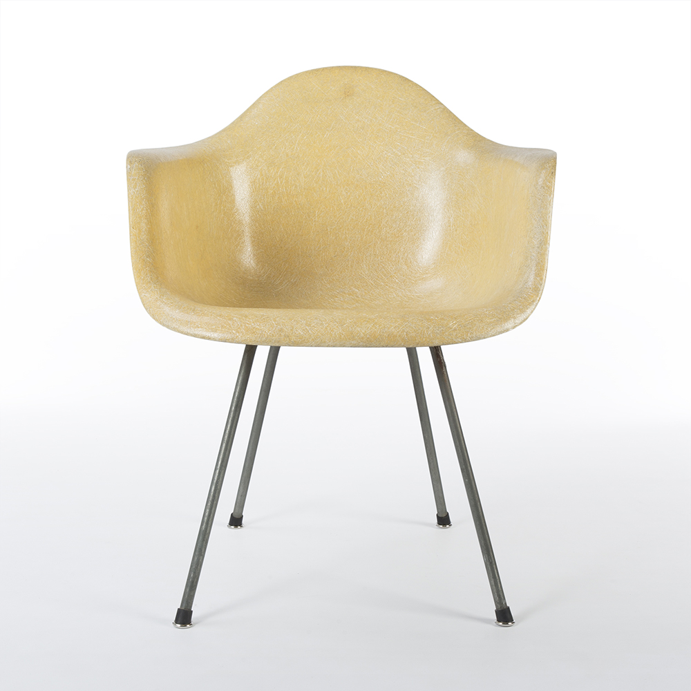 Lemon Yellow 1950 Zenith Plastics Eames DAX (& Variants) Arm