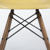 Ochre Light Yellow 1960s Herman Miller Eames DSW Dowel Side Chairs in very good condition thumbnail