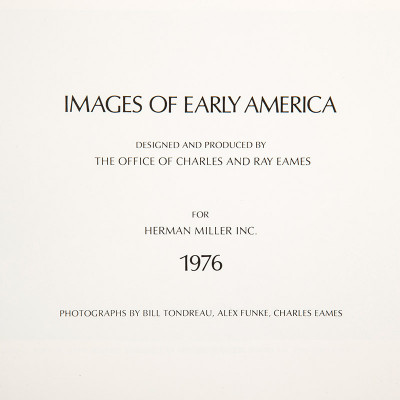The inner title page is the only page in the book that contains any written text content and announces the photographers, year and title