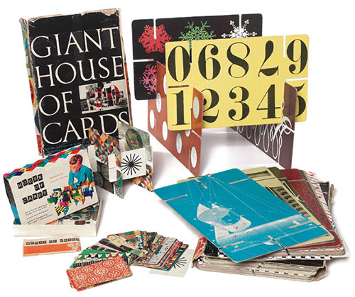 Giant House Of Cards - First Edition Box (Black Side) 1953