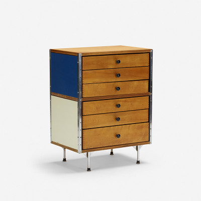 This half width 200 series ESU is model 270-C with a double drawer unit to create a 'chest of drawers'
