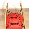 Red Orange 1990s Herman Miller Eames RAR Rocking Arm Chairs in very good condition thumbnail