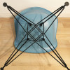 Blue 1990s Vitra Eames DSR Eiffel Side Chairs in very good condition thumbnail
