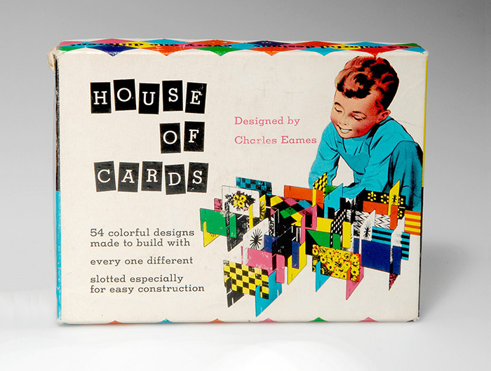 US & Third Edition House Of Cards 'Combination Deck' - 1954
