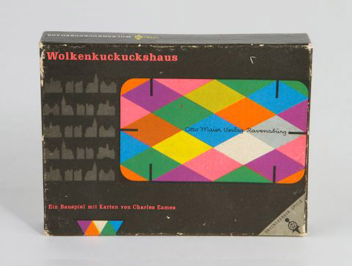 Europe - First Edition Ravensburger house Of Cards 1960