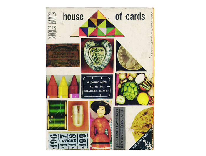 Europe - Second Edition Ravensburger House Of Cards 1969