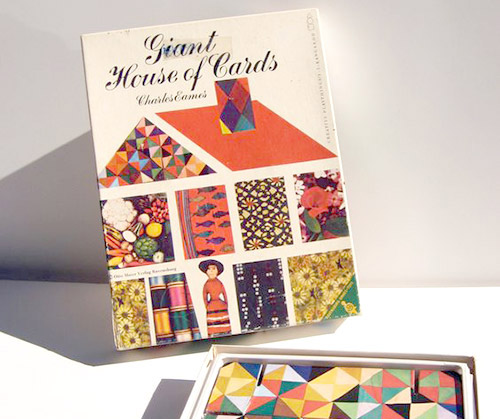 3rd Edition Giant House Of Cards released since 2006 by Eames Office