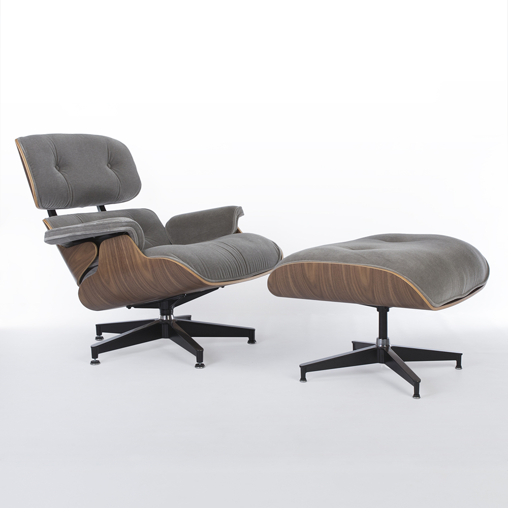 Incredible Grey 2010S Herman Miller Eames Lounge Chair Ottoman Caraccident5 Cool Chair Designs And Ideas Caraccident5Info