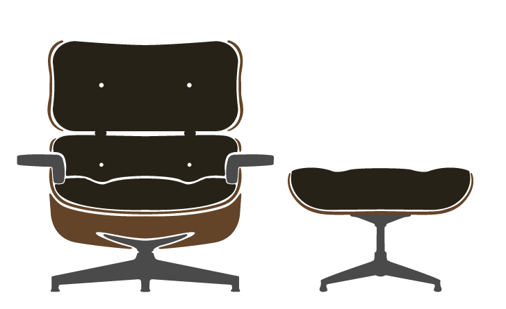 Fabulous Eames Lounge Chair Ottoman Eames Lounge Chair Eames Com Pdpeps Interior Chair Design Pdpepsorg