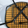Dark Tone 1953 Herman Miller Eames DKX - X-Base Wire Side Chairs in very good condition thumbnail