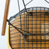 Yellow 1951 Herman Miller Eames DKW - Dowel Wire Side Chairs thumbnail