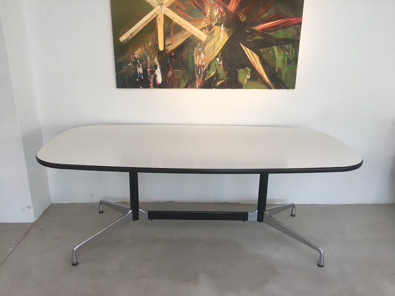White 2004 Vitra Eames Segmented Work & Conference Tables