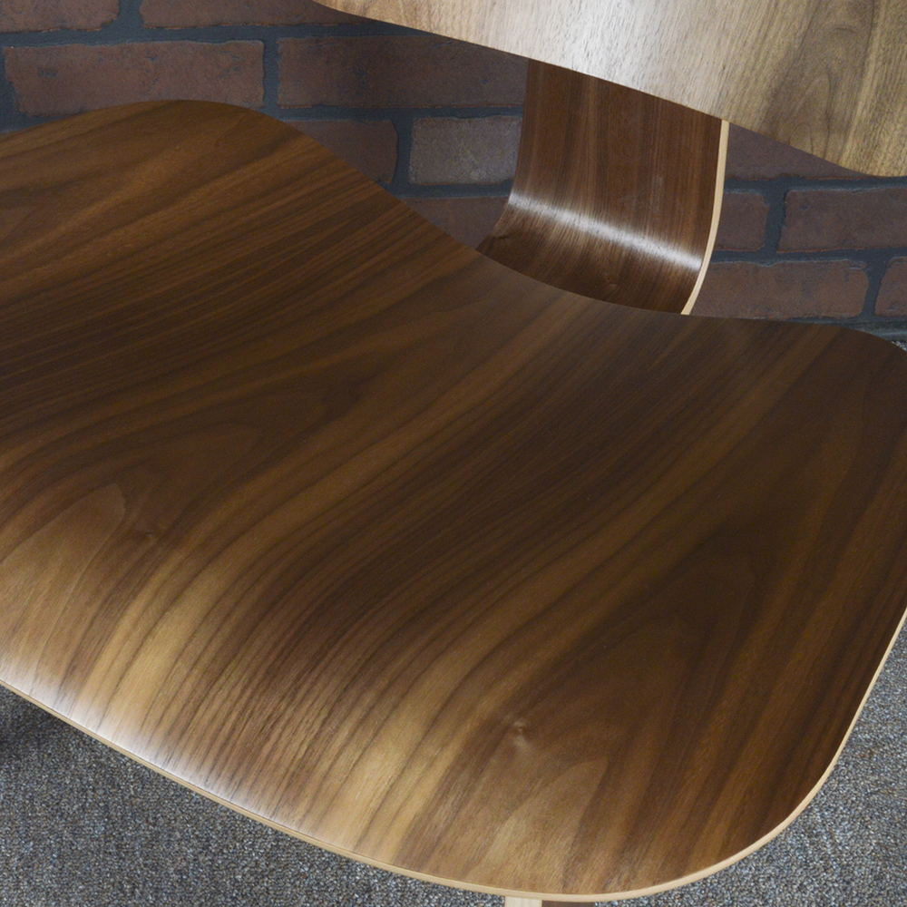 Wooden 2017 Herman Miller Eames LCW - Ply Lounge Chair Wood