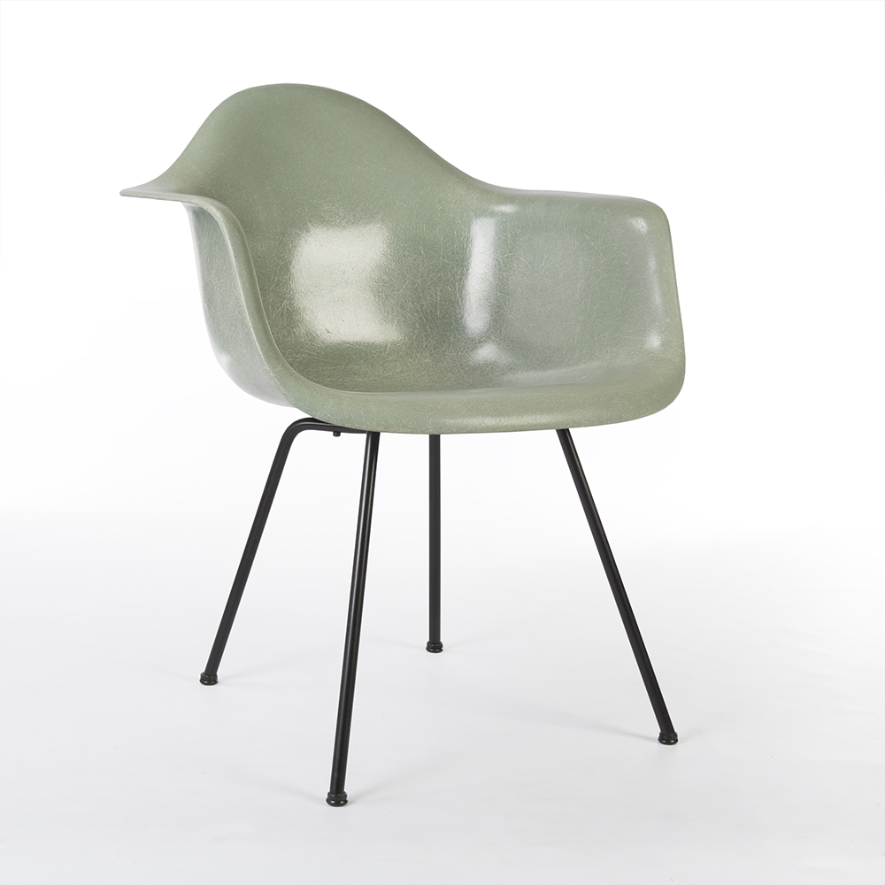 Sea Foam Green 1950s Herman Miller Eames DAX (& Variants) Arm