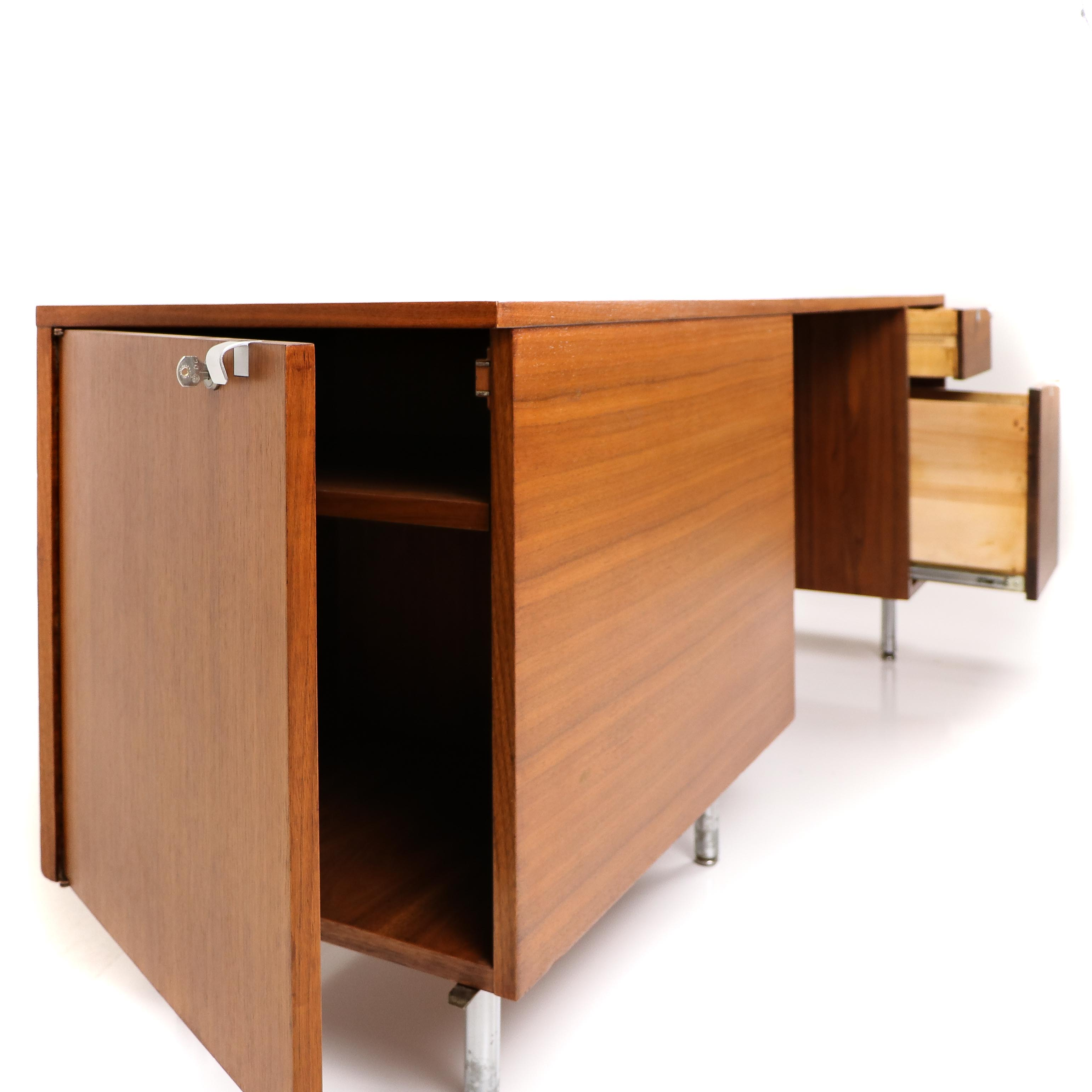 Wooden 1950s Herman Miller Eames EDU - Eames  Desk Unit