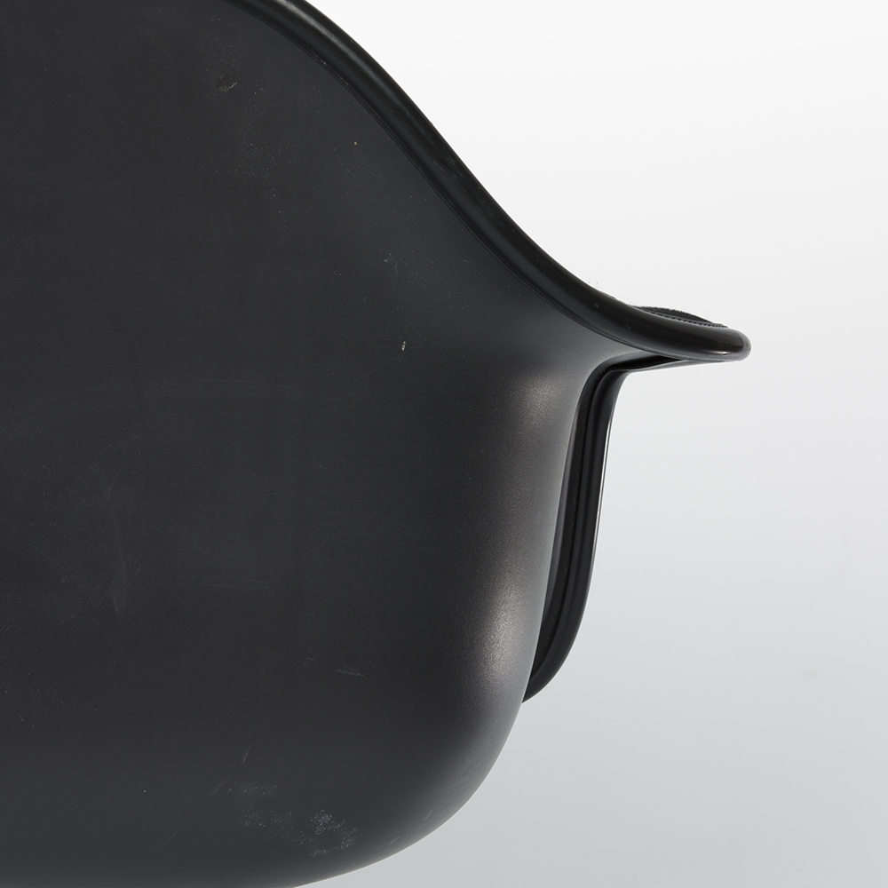 Black 2010s Vitra Eames DAR Eiffel Arm