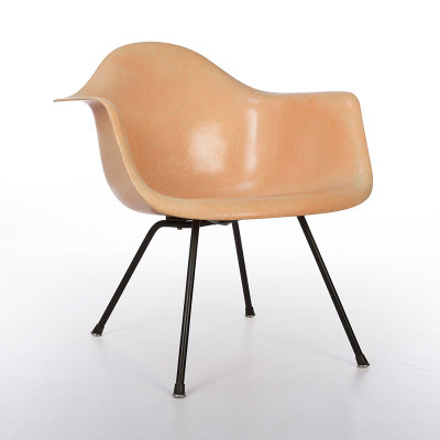 First Edition Eames LAX Lounge Height X Base Arm Chair