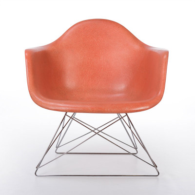 1st Generation Red Orange Eames LAR for Zenith Plastics
