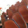 Red 1962 Herman Miller Eames Tandem Seating thumbnail